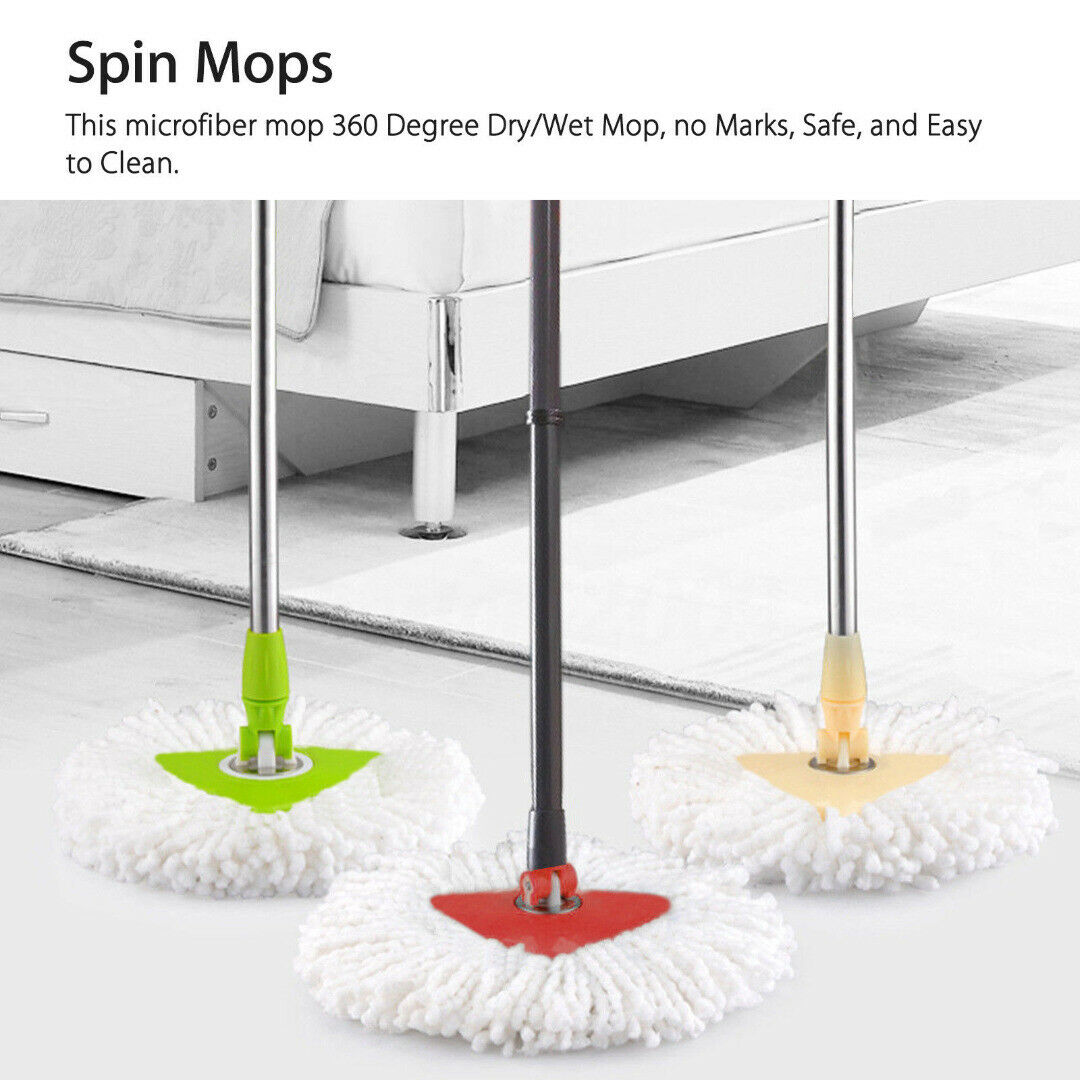 Ersatzköpfe Spin Mop Dreieck Mikrofaser Wischmop Für O-Cedar Bodenwischer