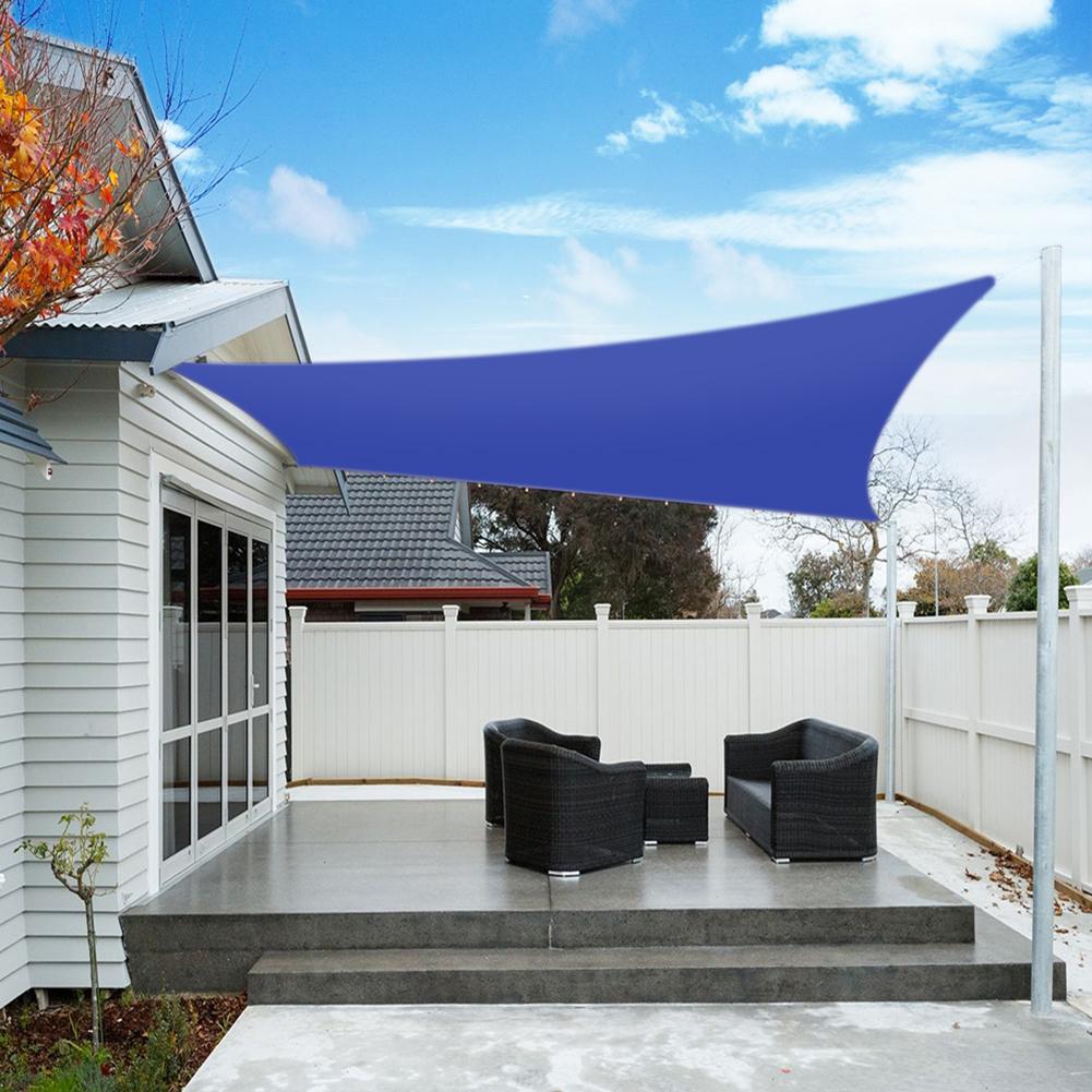 Outdoor Garden Patio Sun Shade Sail Canopy Awning ...