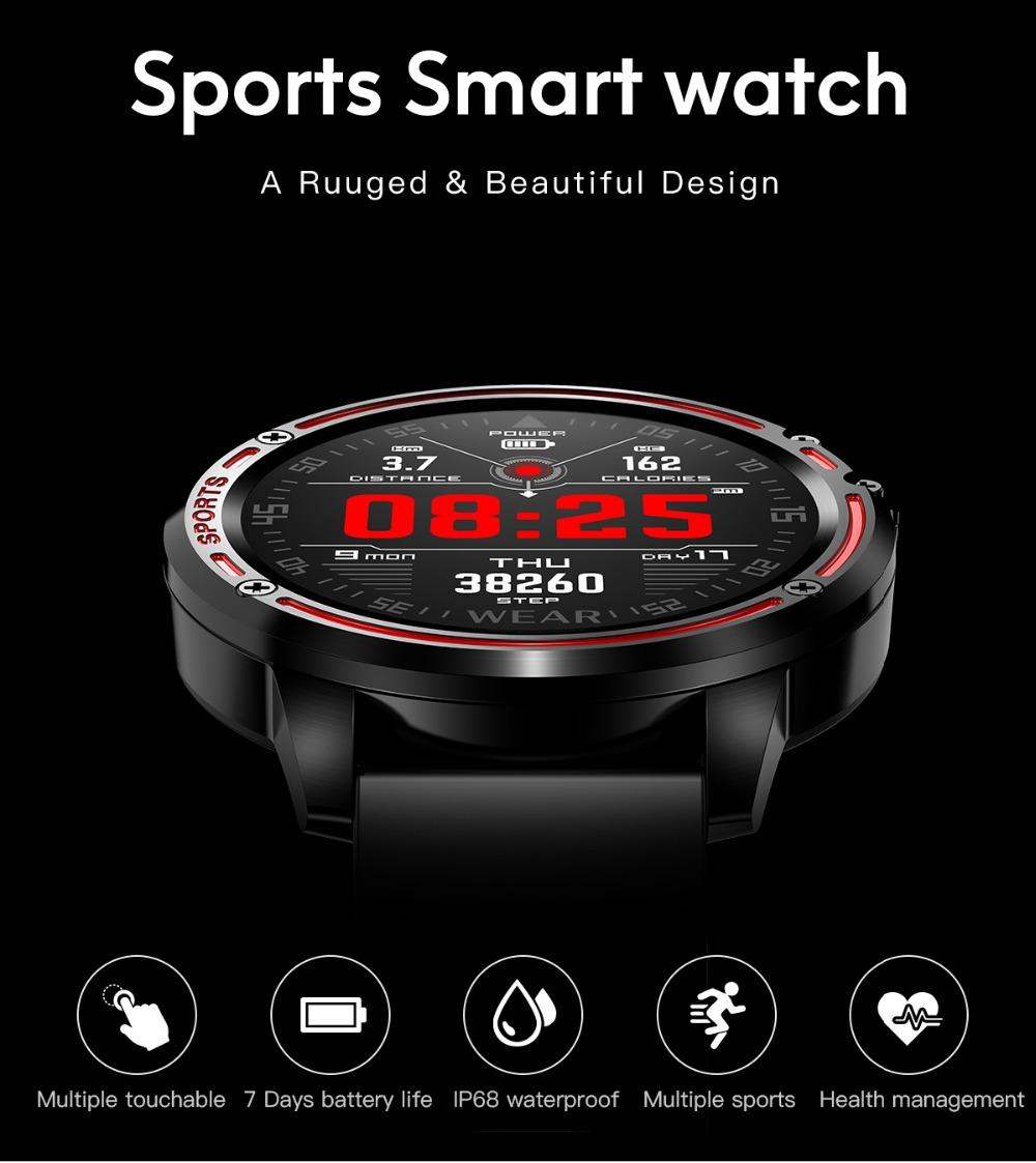 Wasserdicht IP68 Smartwatch Fitness Smart Armband Tracker ...