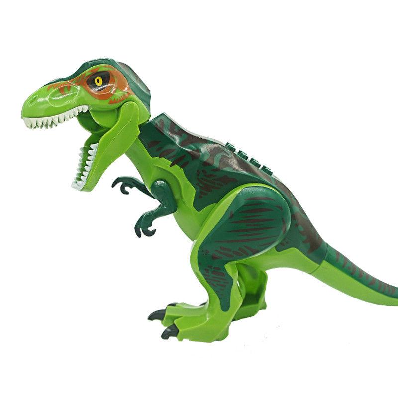 1//2//4//6 Lego Dinosaurier Tyrannosaurus T-Rex Spielzeug Jurassic World Park Serie