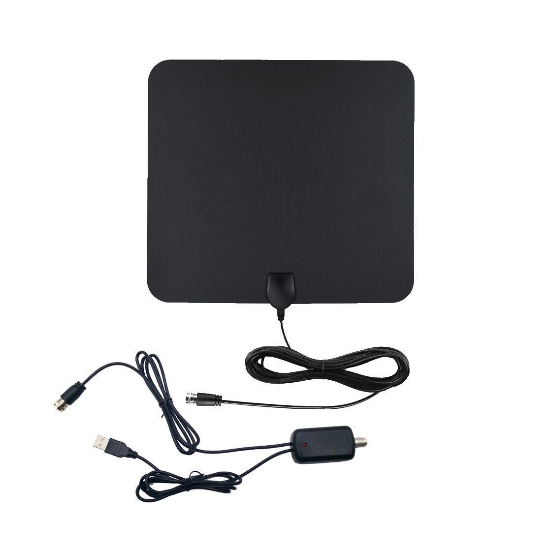 50 miles digtial tv antenne amplified dvb t dvb t2 1080p hdtv fernseher ebay. Black Bedroom Furniture Sets. Home Design Ideas