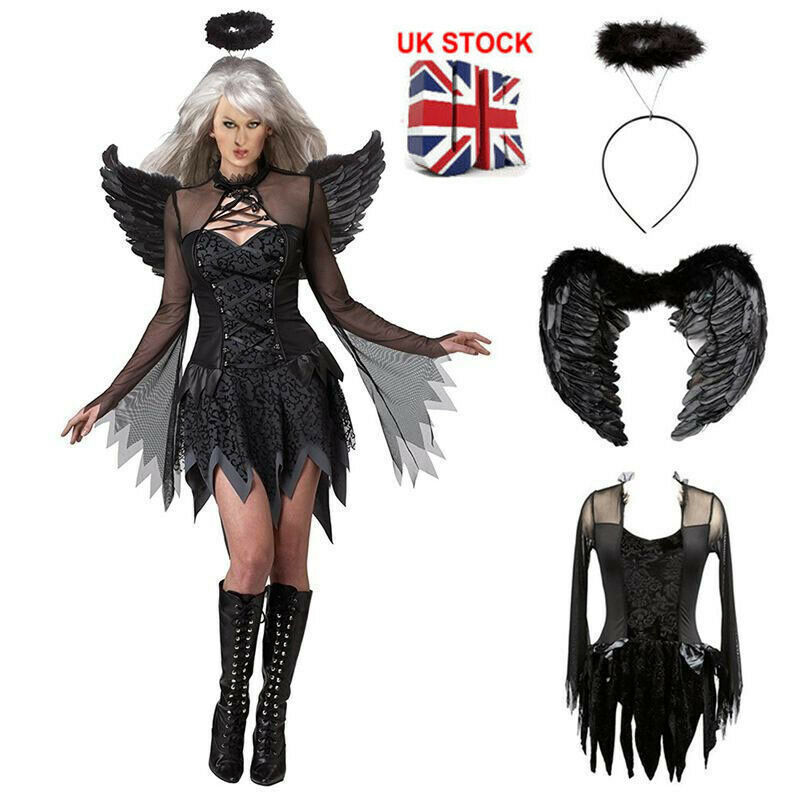 Fallen Angel Dark Heaven Adult Women Costume