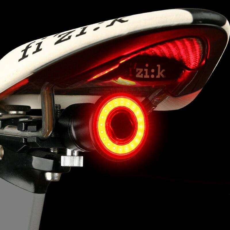Bremsinduktion-Fahrrad-Ruecklicht-COB-LED-Blinker-USB-Wiederaufladbar Indexbild 17