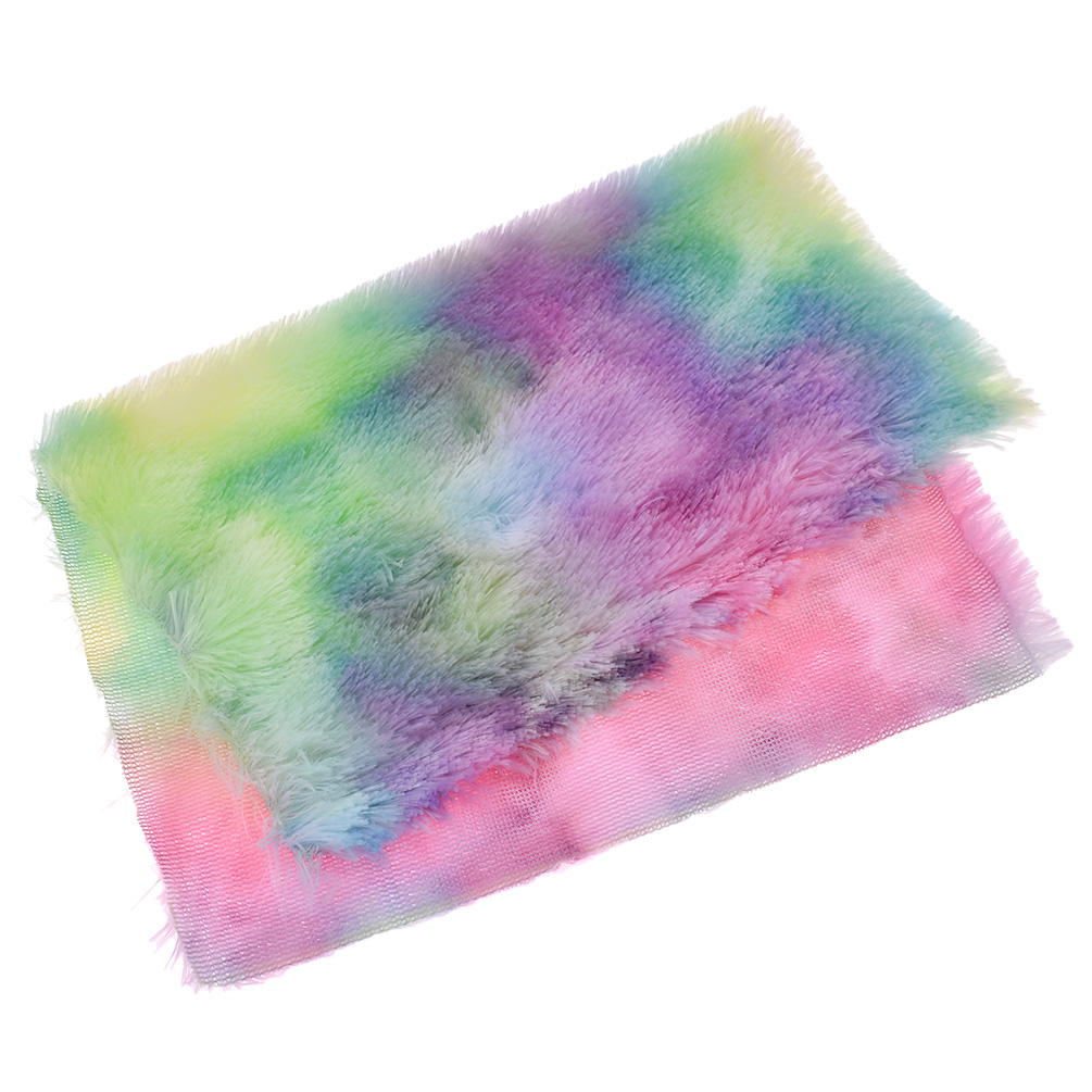 A4-Rainbow-Faux-Fur-Flocking-Soft-Fabric-for-DIY-Bags-Bows-Sewing-Supplies thumbnail 7