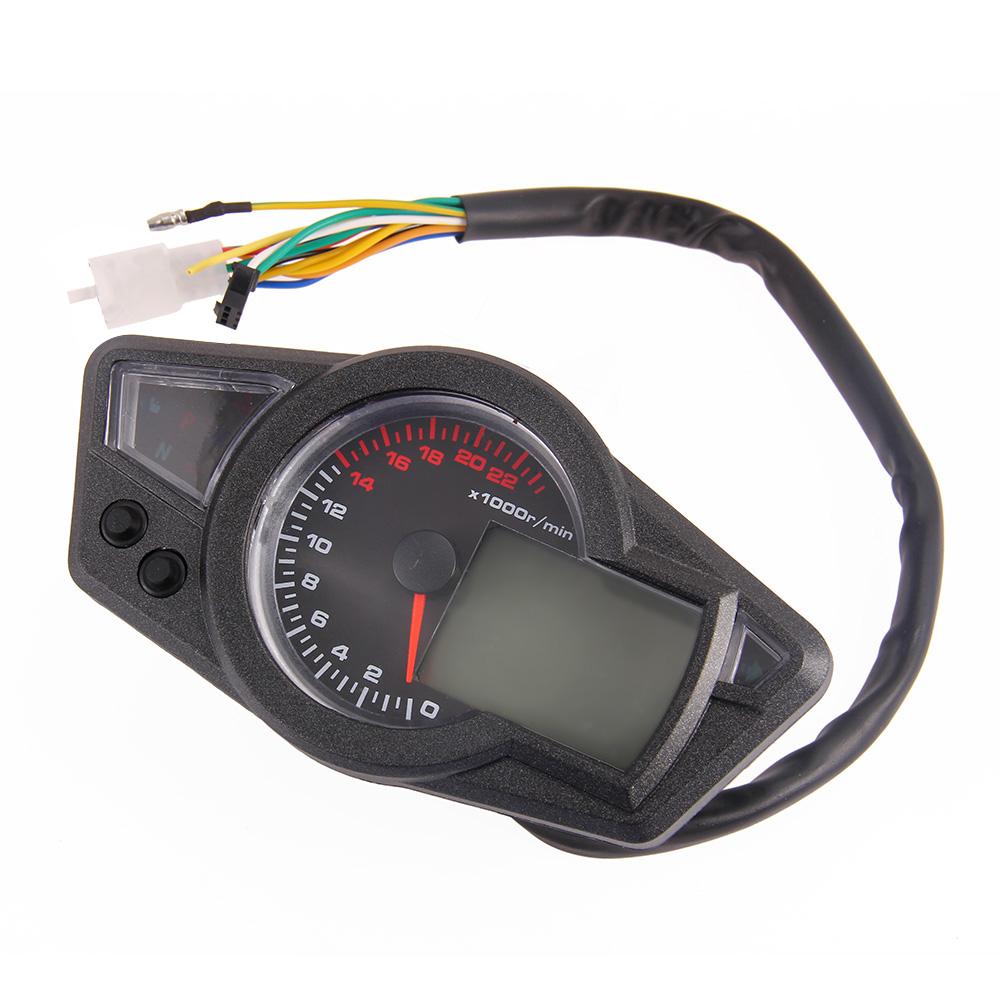 motorrad tacho universal tacho tachometer bordcomputer. Black Bedroom Furniture Sets. Home Design Ideas
