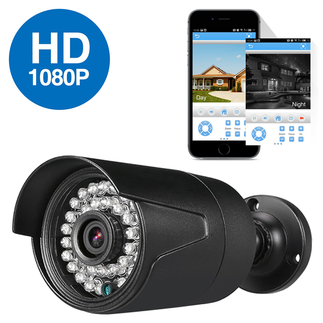 4CH Wire CCTV 720P DVR Kit Outdoor IP Camera Security NVR ...
