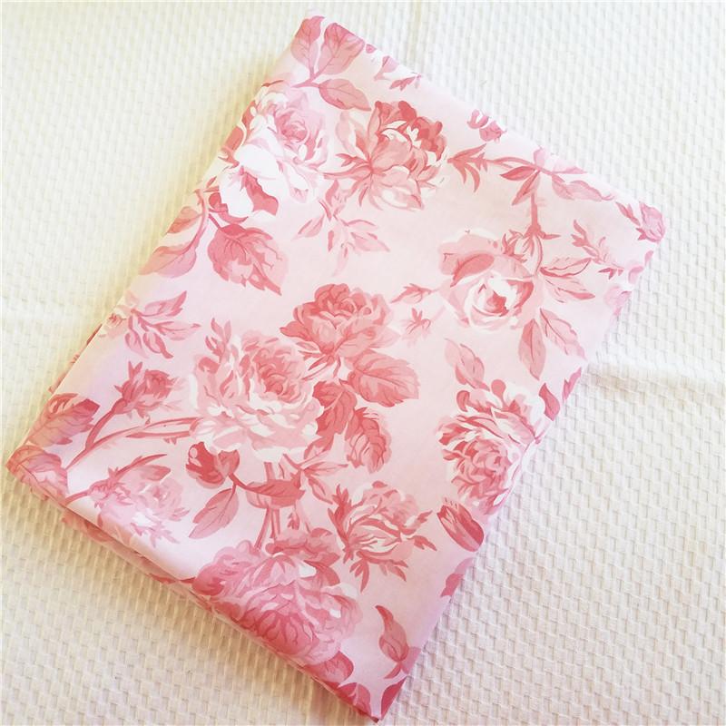50*160CM Twill Baumwolle Stoff Blume Nähen Ins Patchwork Kleidung Tischdecke DIY
