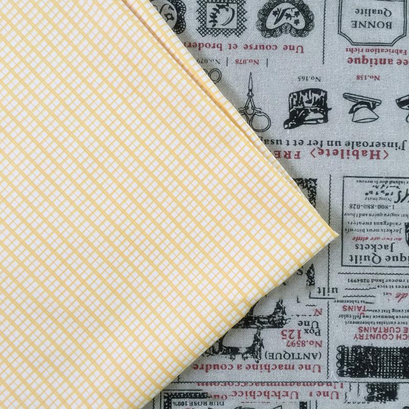 50-160CM-Gelb-Blume-Stoff-Tuch-Floral-Twill-100-Baumwollgewebe-Naehen-Patchwork Indexbild 8