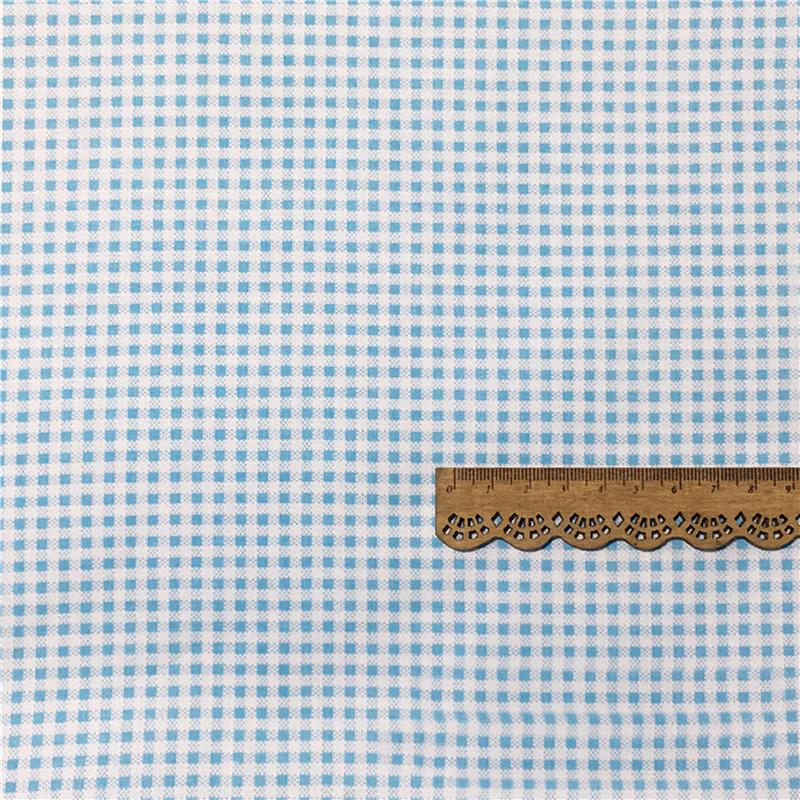 Blau-Blumig-Strip-Twill-Stoff-Patchwork-100-Baumwolle-Kissen-Quilting-Kleidung Indexbild 12