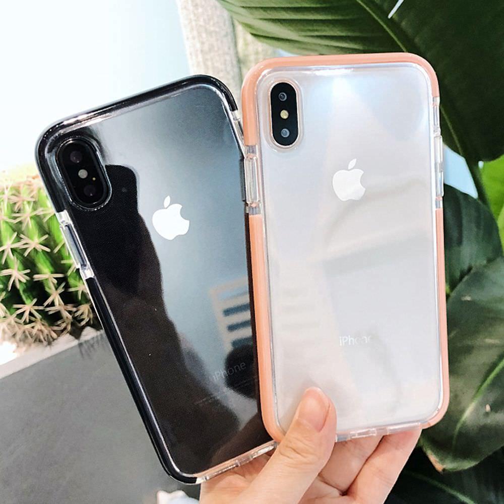 coque transparente anti choc iphone 6