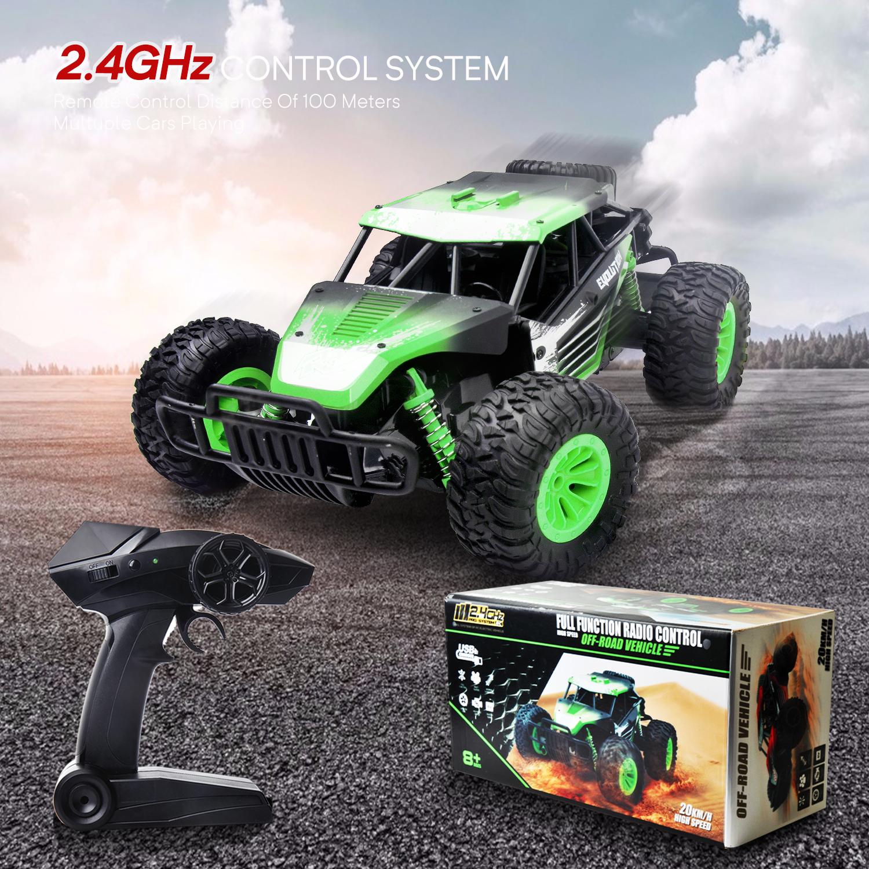 Elektrisch 4CH Ferngesteuerter RC Rennwagen Auto Offroadcar Spielzeug 20KM//H DHL