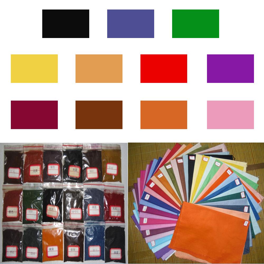 11 Colori Fai Da Te Tessuto Tessile Vernice Tie Dye Polvere Kit di un solo passaggio acqua fredda Craft