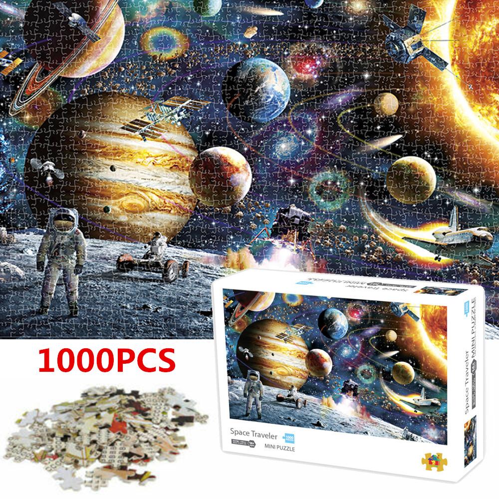 1000 Teile DIY Puzzle Erwachsener Premiumpuzzle Lernspielzeug Dekor High Quality