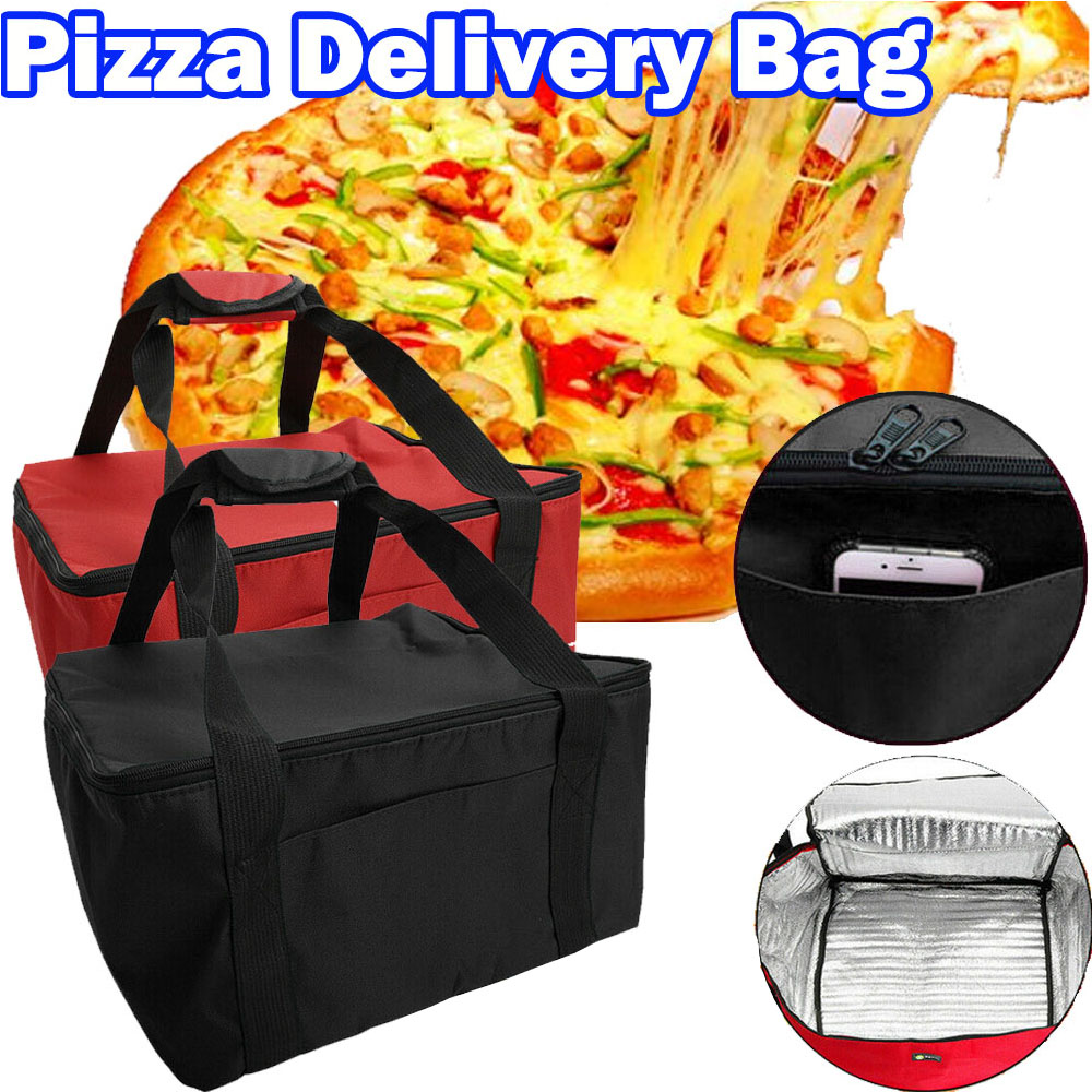420*420*230mm Hot Food Pizza Takeaway Restaurant Delivery Bag Thermal Insulated