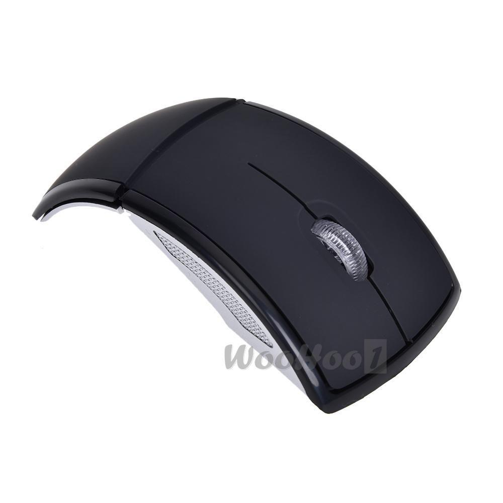 Mini Empf?nger Wireless Schwarze drahtlose Maus + USB-Empf?nger ...