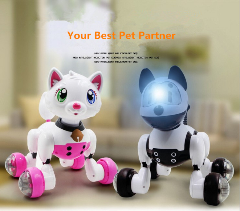 Details about Kids Puppy Robot Pet Toy Smart Voice Remote Dancing Sing Interactive Toys Gift