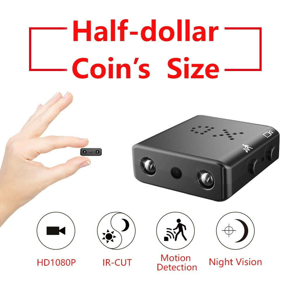 1080P Nachtsicht Mini Wireless versteckte Spionagekamera HD Micro Security