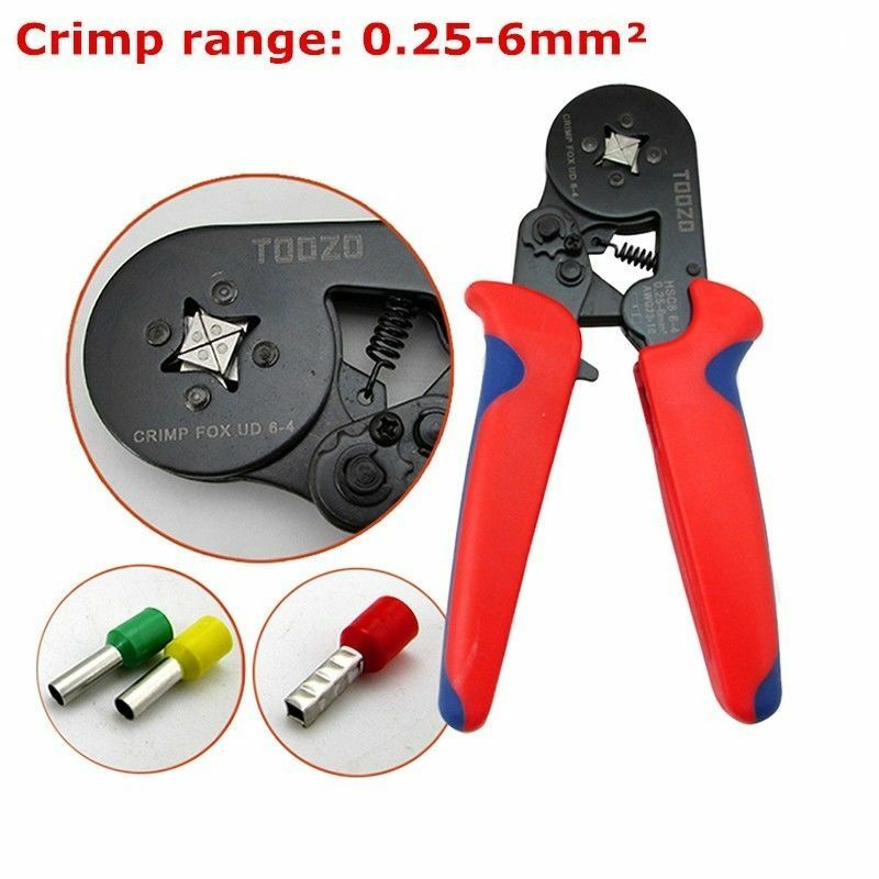 Cable Wire Ferrule Terminal Crimper Pliers PZ 0.25-2.5mm² Crimping Tool US