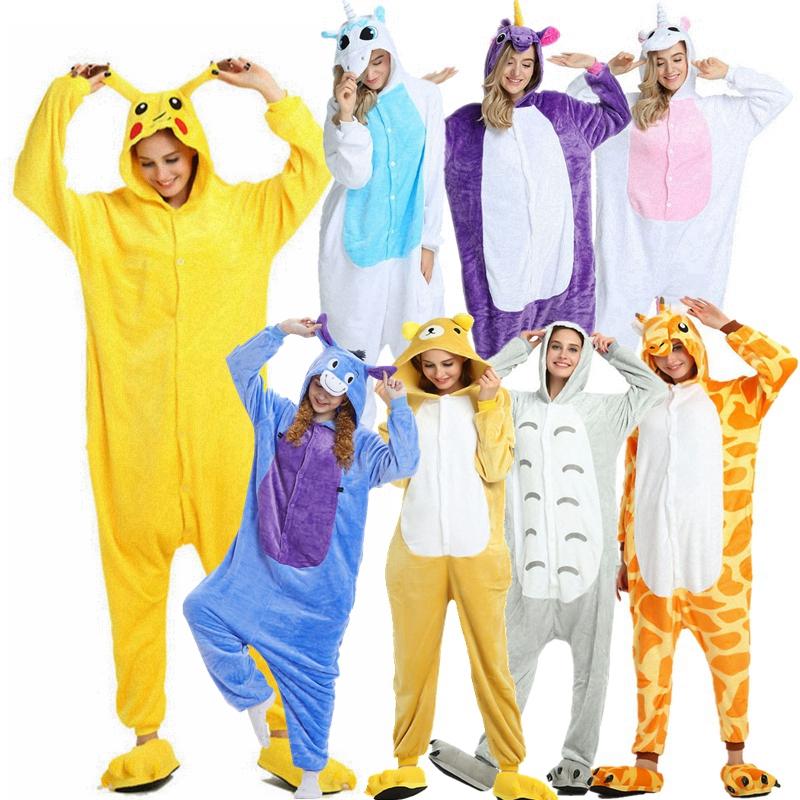 Halloween Cosplay Kigurumi Schlafanzug f/ür Karneval f/ür Erwachsene und Kinder Unisex