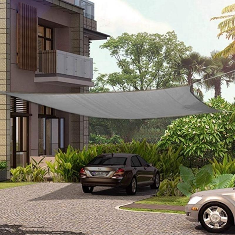 miniatura 31 - Tenda vela TRIANGOLARE ombreggiante telo sole ombra giardino PARASOLE 2 3.6 5mt