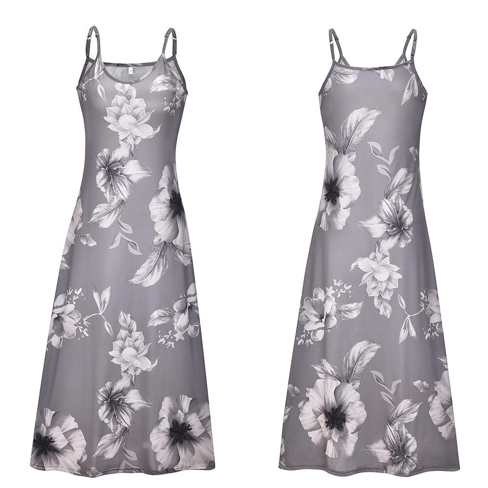 Damen Sommer Kleid Minikleid Boho Strand Party Abend ...