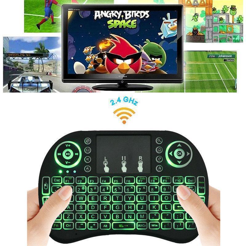 2 4g mini funk tastatur mit touchpad kabellos wireless. Black Bedroom Furniture Sets. Home Design Ideas