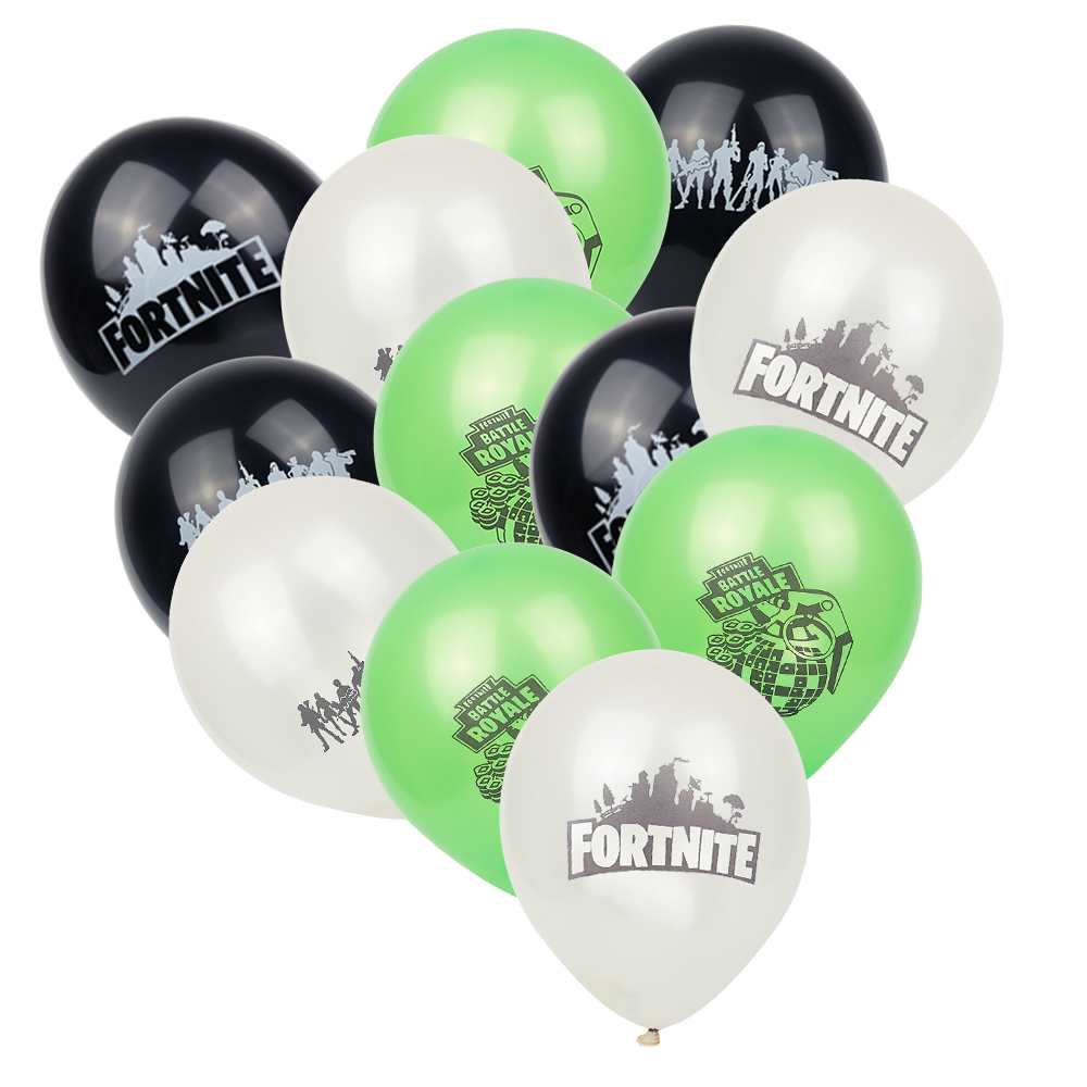 UK Fortnite Video Game Birthday Party Balloon Balloons Supply Decoration Pubg