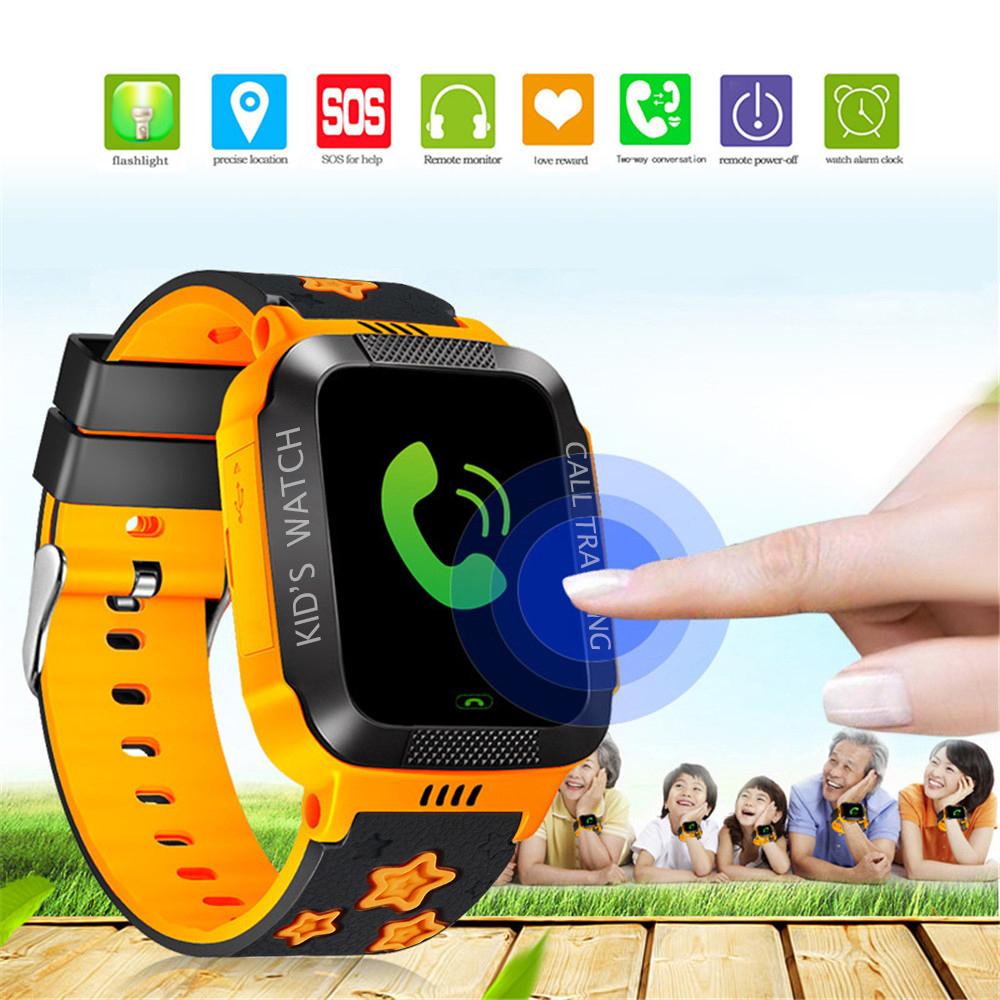 Kinder Smart Watch für Jungen Mädchen, Telefon Uhr LBS