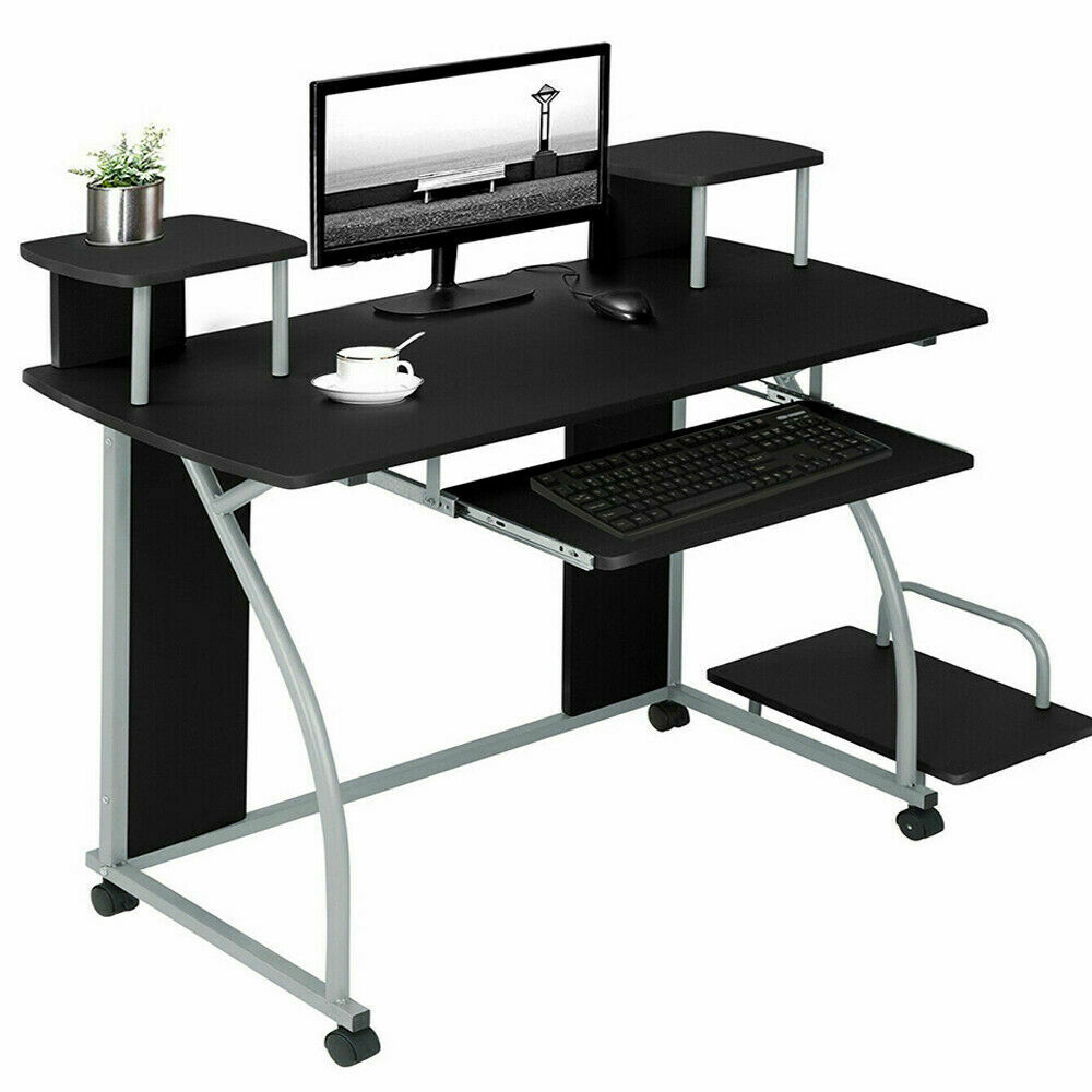Wooden Computer Desk Work Table Youth Student Office Work ...