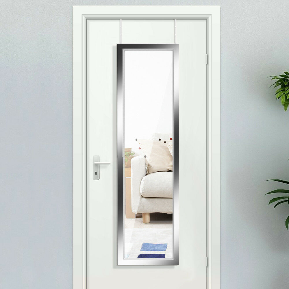 Long Wall Mirror Leaner Hanging Over Door Full Length ...