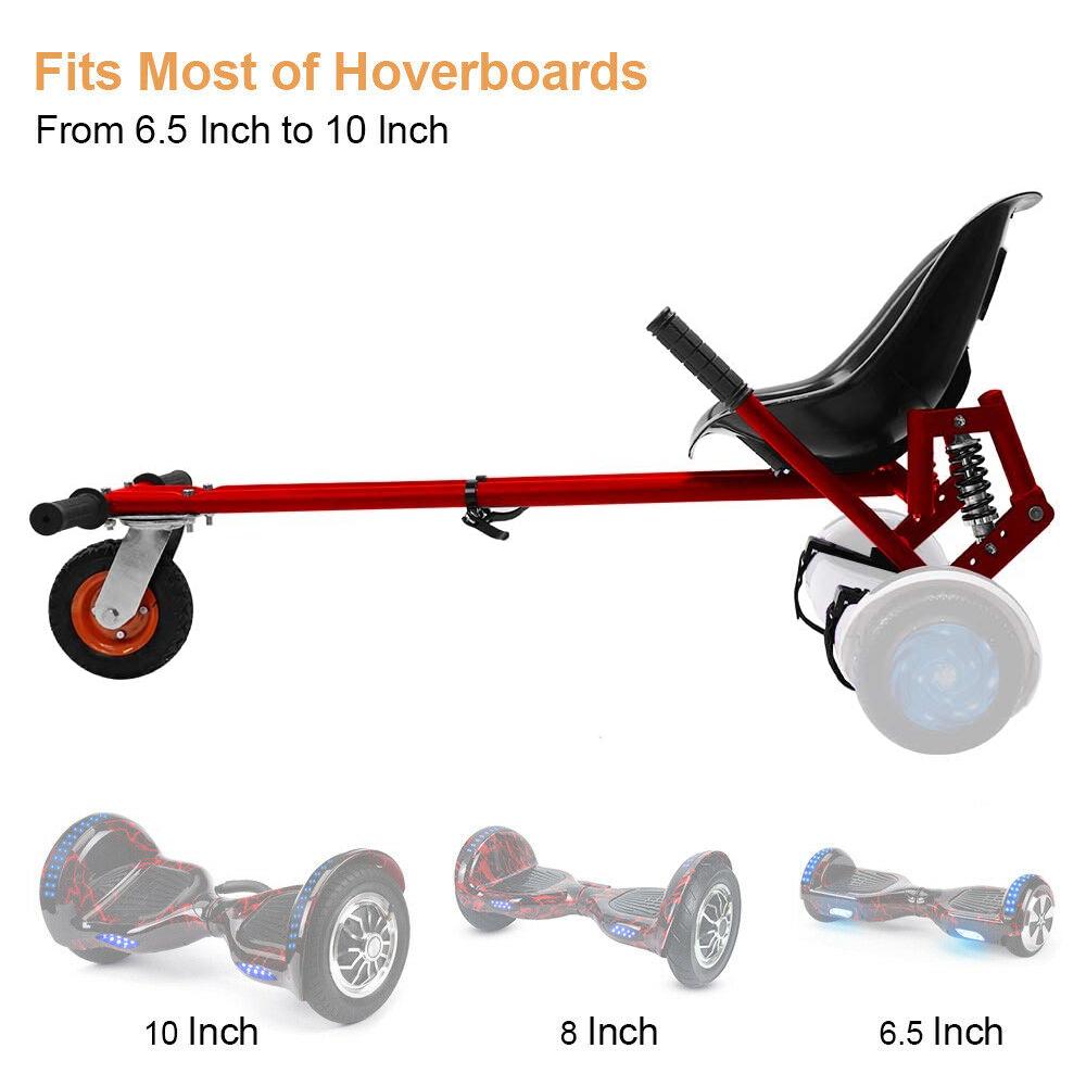 Indexbild 15 - Hoverkart Hoverboard Sitzscooter Dämpfungsfedern Go Kart Hoverseat Kartsitz DE