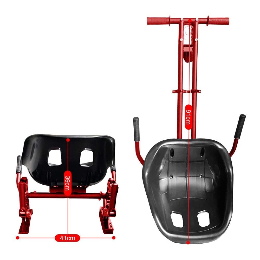 Indexbild 19 - Hoverkart Hoverboard Sitzscooter Dämpfungsfedern Go Kart Hoverseat Kartsitz DE