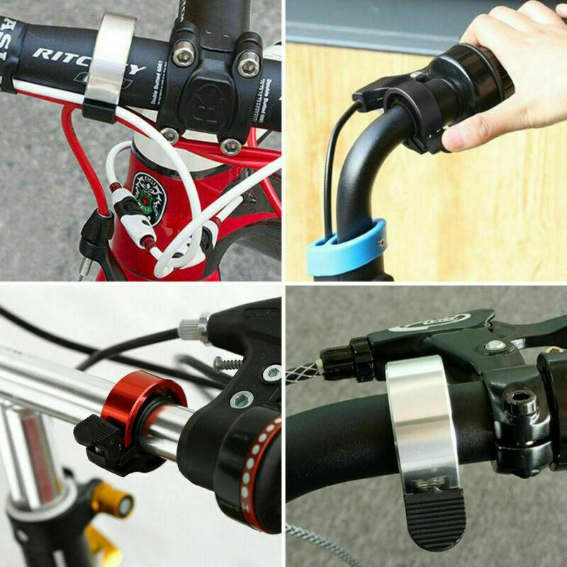 Aluminiumlegierung-Fahrrad-Roller-Bell-Heavy-Duty-MTB-Fahrrad-Lenker-Kit-Glocke miniatura 10