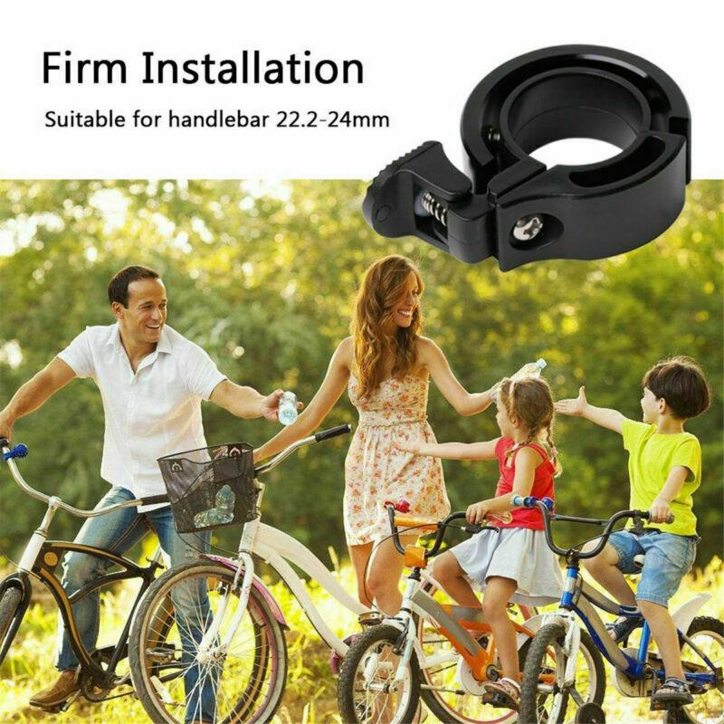 Aluminiumlegierung-Fahrrad-Roller-Bell-Heavy-Duty-MTB-Fahrrad-Lenker-Kit-Glocke miniatura 12