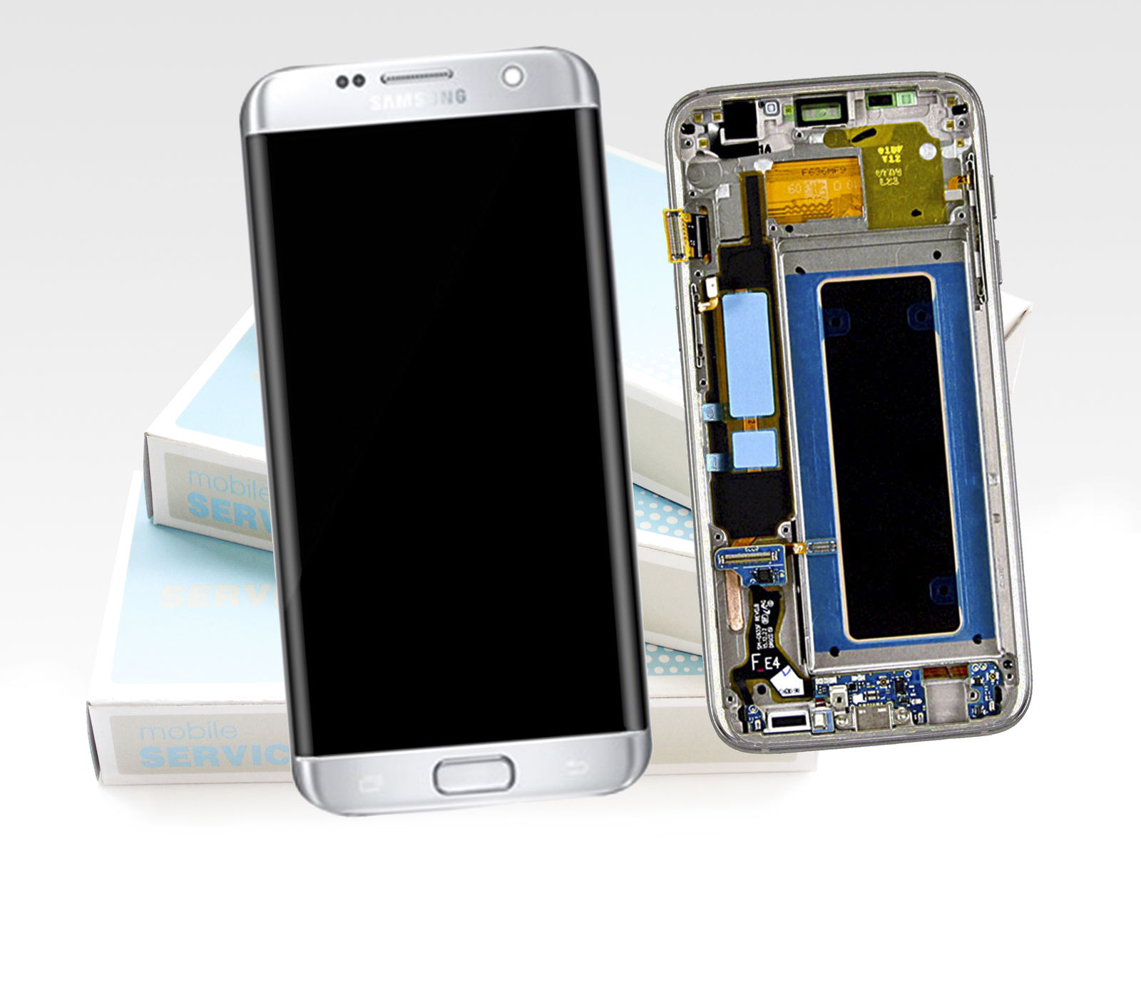 f r samsung galaxy s7 edge sm g935f lcd display touch. Black Bedroom Furniture Sets. Home Design Ideas