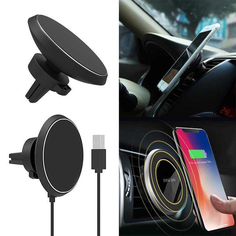 handy halterung halter auto kfz induktives laden qi wireless l ftung car magnet ebay. Black Bedroom Furniture Sets. Home Design Ideas