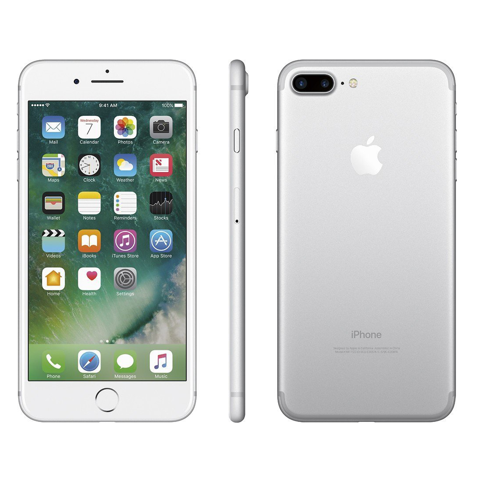 Apple-iPhone-7-Plus-256Go-Argent-SmartPhone-sans-Simlock-5-5-034-Telephones miniature 2