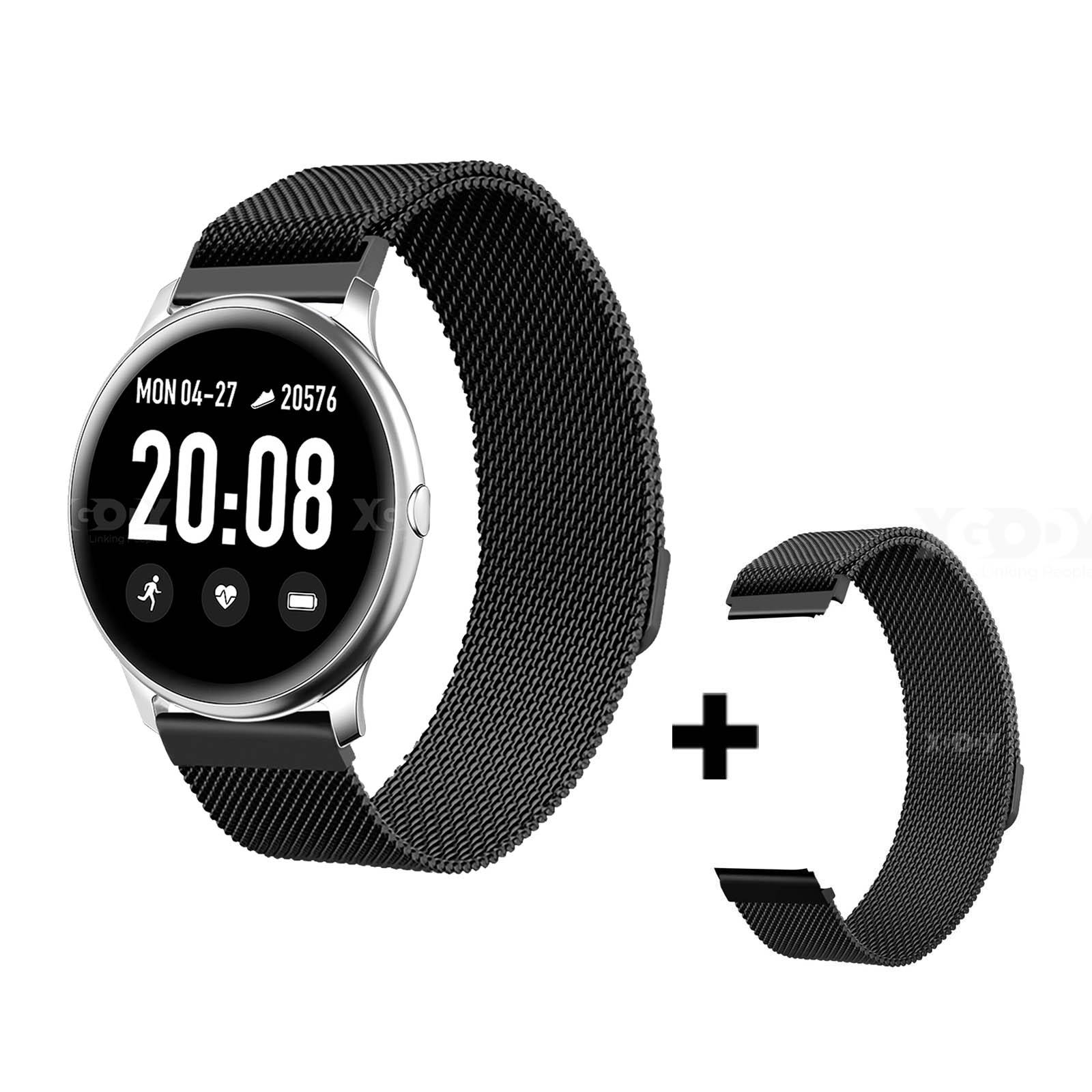 XGODY SmartWatch mit Pulsmesser Fitness Tracker ...
