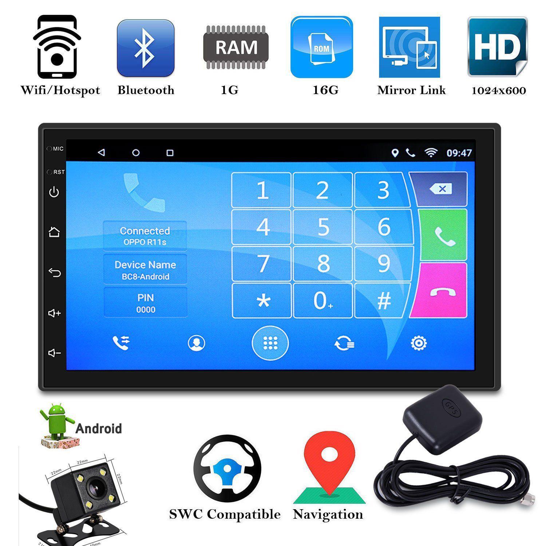 7 39 39 android 8 0 autoradio mit doppel 2din gps navi. Black Bedroom Furniture Sets. Home Design Ideas