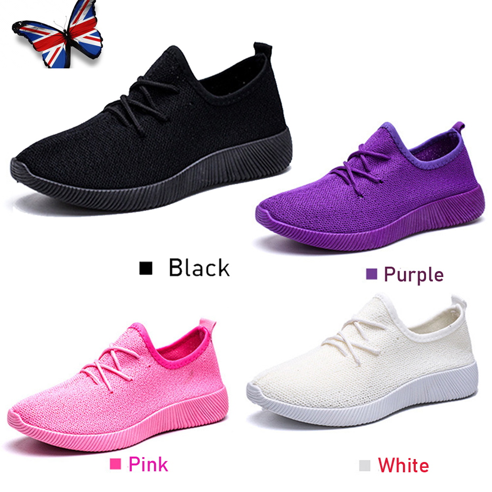 Women Ladies Lace Up Breathable