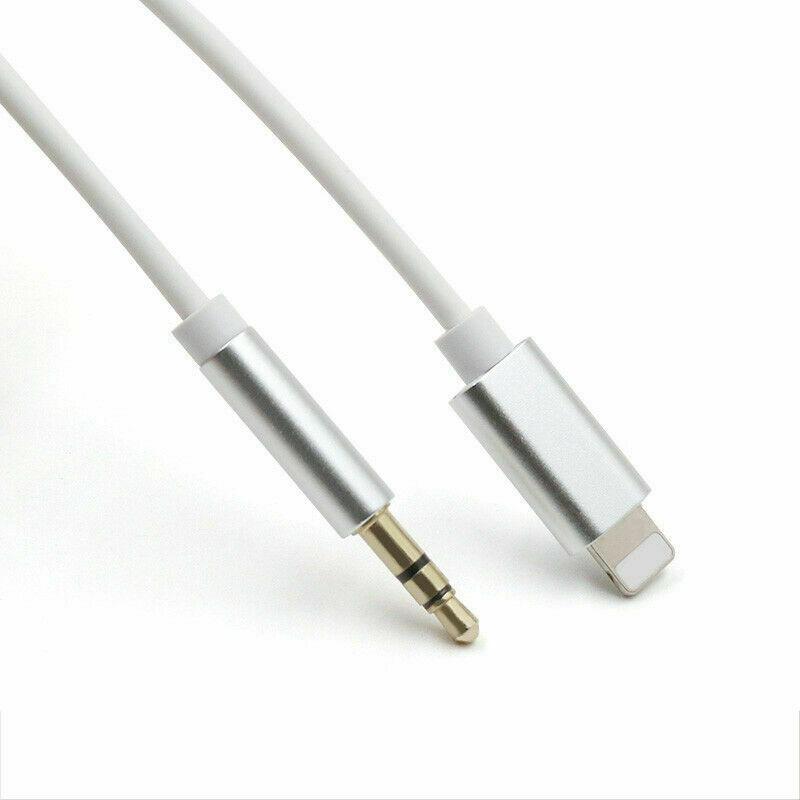 Lightning To 3 5mm Male: Lightning To 3.5mm Male Jack Car AUX Audio Music Adapter