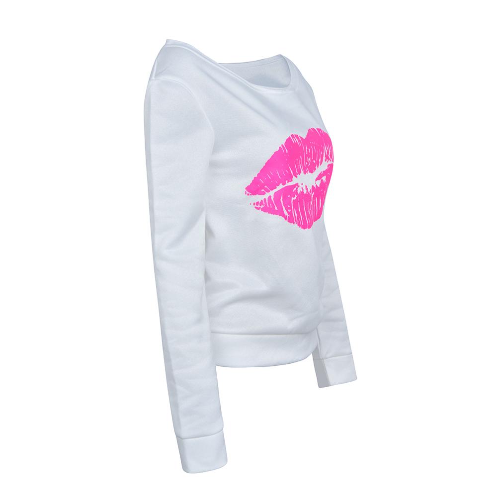 Womens-Long-Sleeve-Off-Shoulder-Warm-Sweatshirt-Pullover-Casual-Top-Shirt-Blouse thumbnail 20