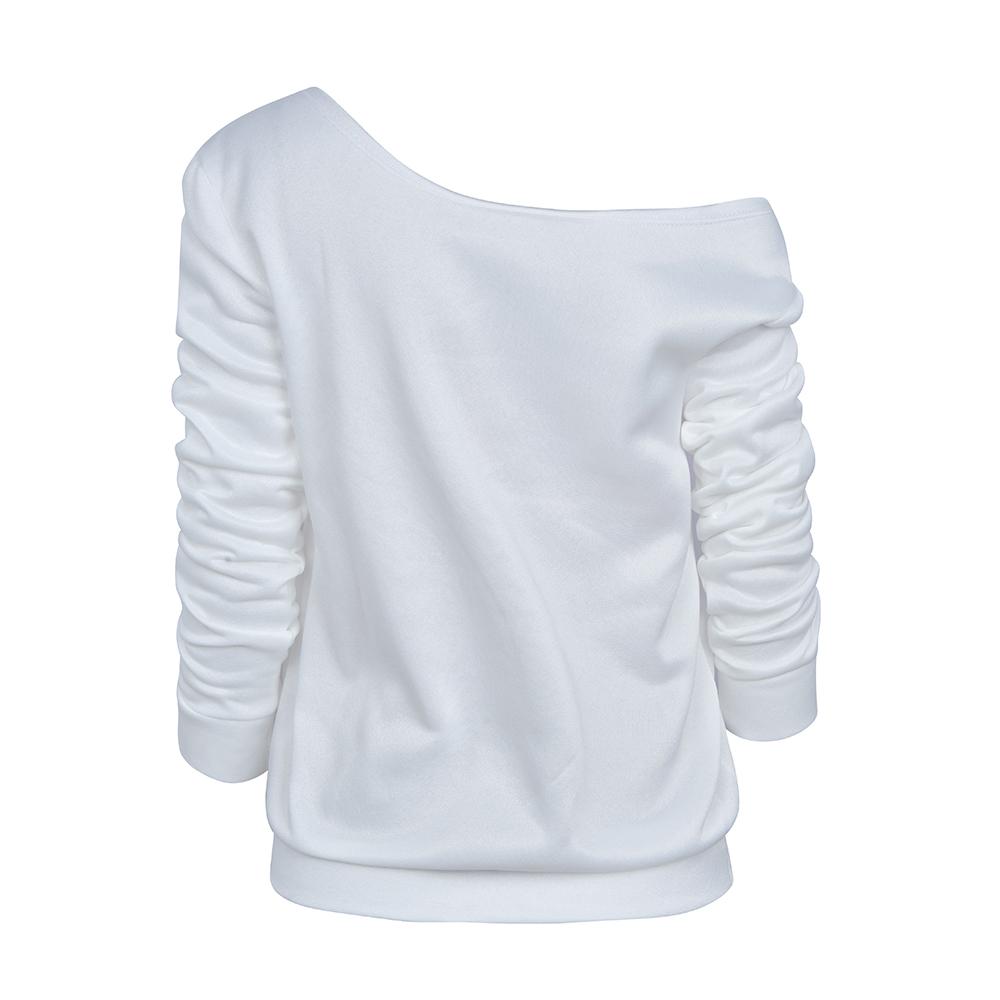 Womens-Long-Sleeve-Off-Shoulder-Warm-Sweatshirt-Pullover-Casual-Top-Shirt-Blouse thumbnail 21