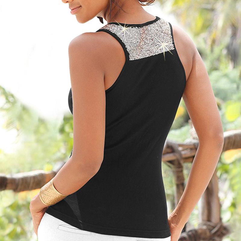 Womens-Summer-Sleeveless-Vest-Tops-Ladies-Casual-Beach-Tank-Blouse-T-Shirt-6-16 thumbnail 14