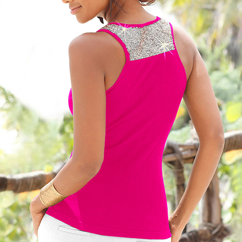 Womens-Summer-Sleeveless-Vest-Tops-Ladies-Casual-Beach-Tank-Blouse-T-Shirt-6-16 thumbnail 18