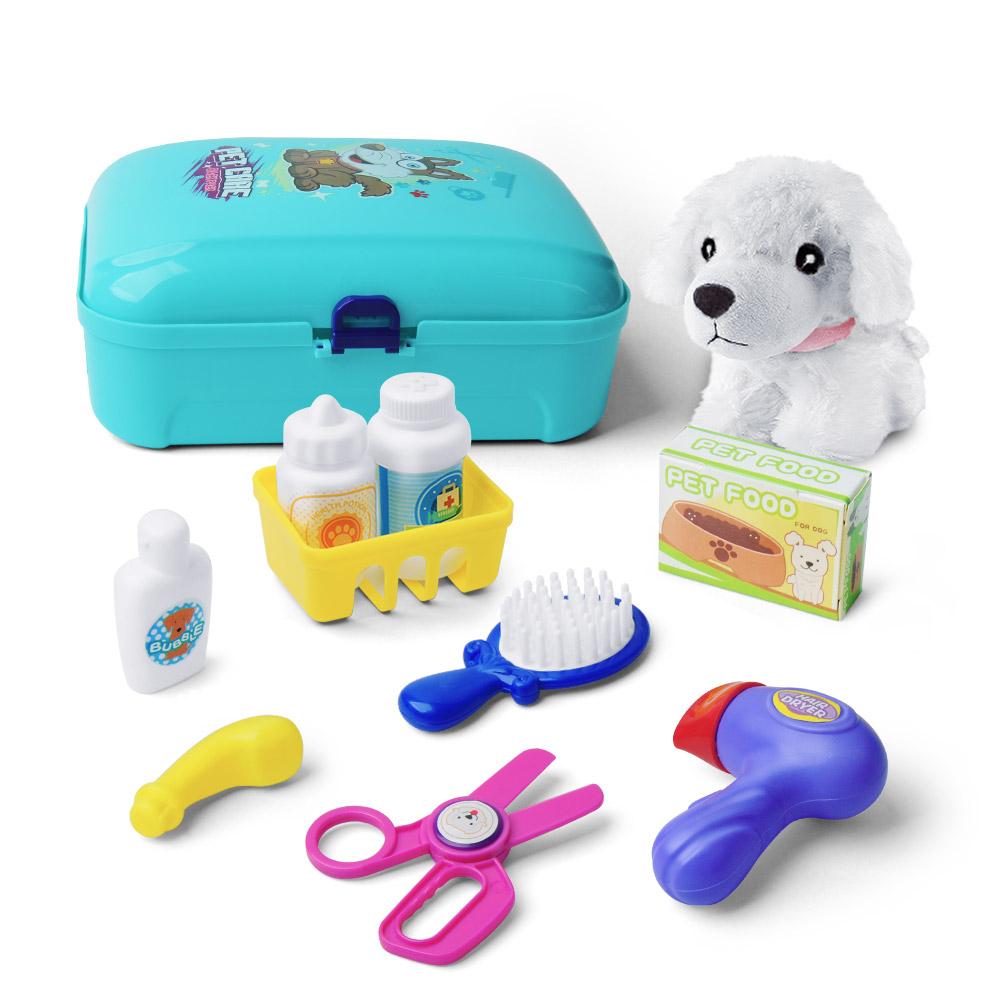 Mini Haushaltsgeräte aus Kunststoff Kinder Rollenspiel Spielzeug Lernspielzeug