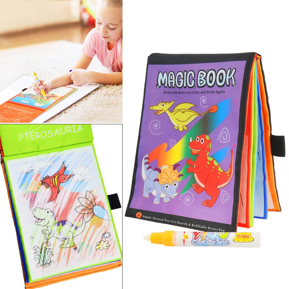 Kinder Malbuch Malen mit Wasser  Wie ein Aqua Doodle Magic Book Malmatte Stift