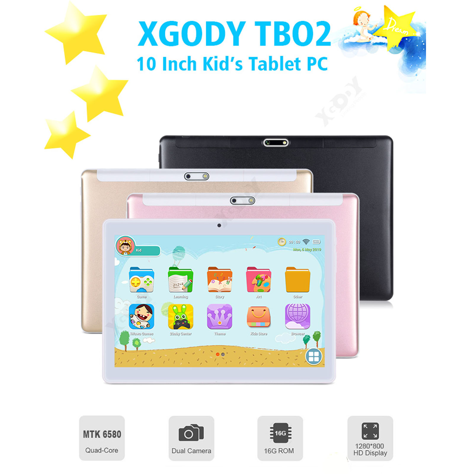 XGODY Android 7 0 Tablet Pc 10 1