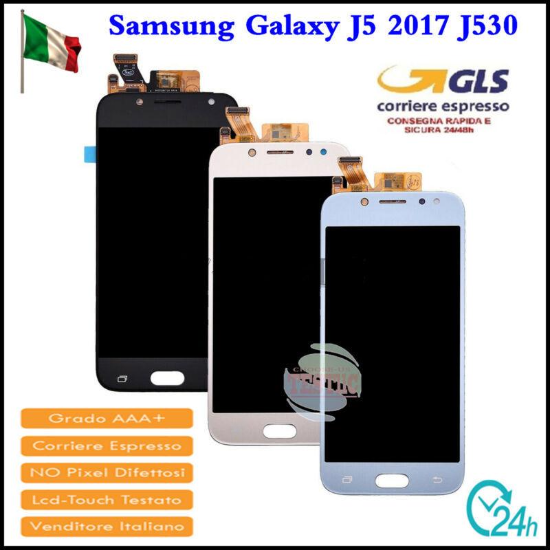 Display LCD Touch Screen Per Samsung Galaxy J5 2017 J530F Schermo Vetro