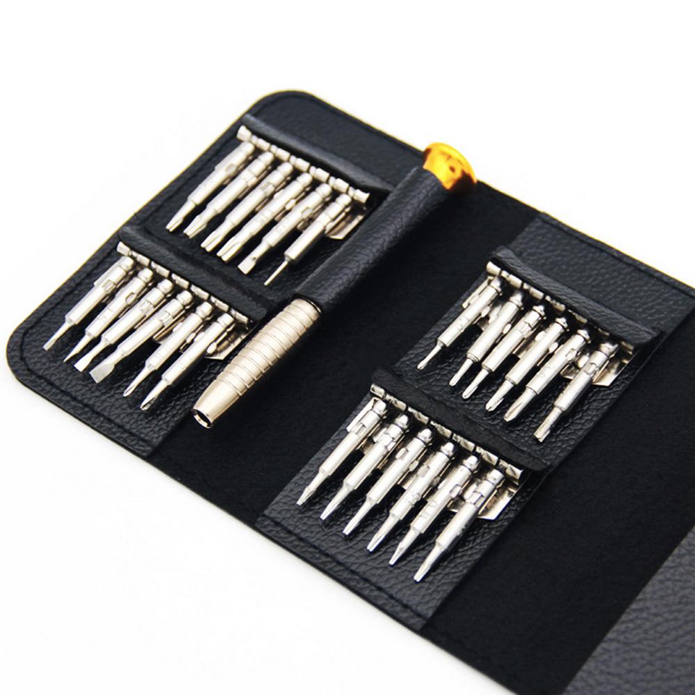 25in1 Schraubendreher Reparatur Werkzeugset Für PC Handy Usw Brillen Laptop
